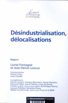désindustrialisation délocalisations